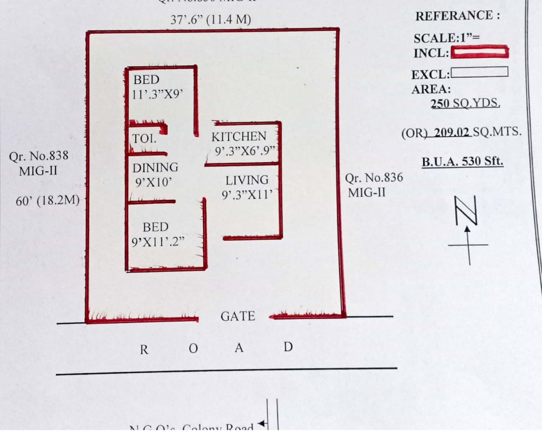 Existing Building Plan